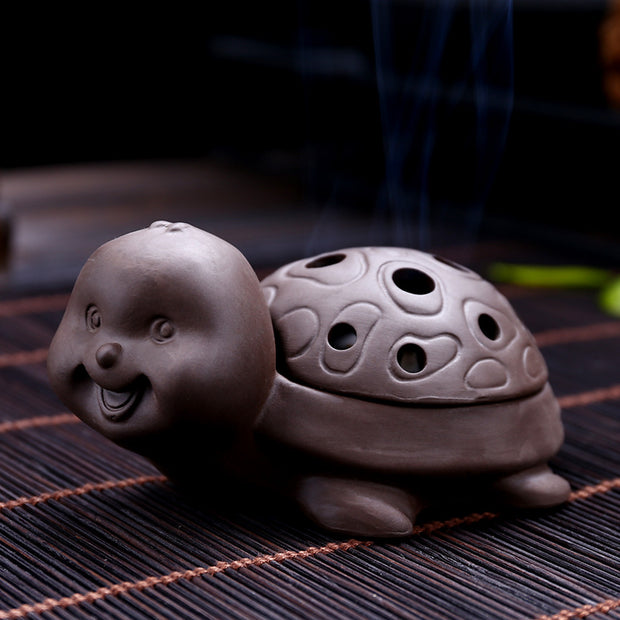 The Turtle Aromatherapy Waterfall Incense Burner for Gift, Home and Office