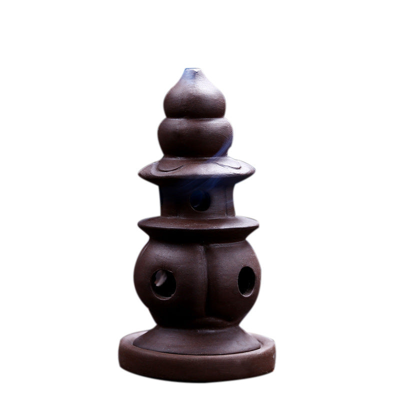 The Shrine Aromatherapy Waterfall Incense Burner for Gift, Home and Office