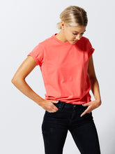 THE T- SHIRT CORAL ORANGE