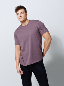THE T- SHIRT PALE LILAC