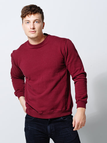 THE SWEATSHIRT DEEP BURGUNDY