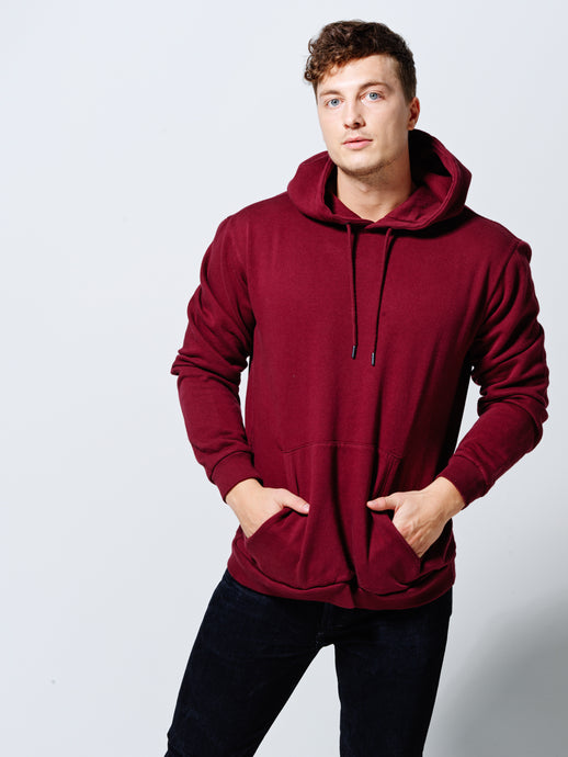 THE HOODIE DEEP BURGUNDY
