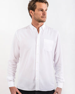 TENCEL SHIRT WHITE