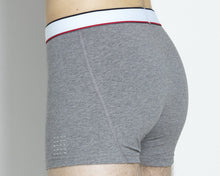 THE BOXER SHORT GREY MELANGE- 8 PACK