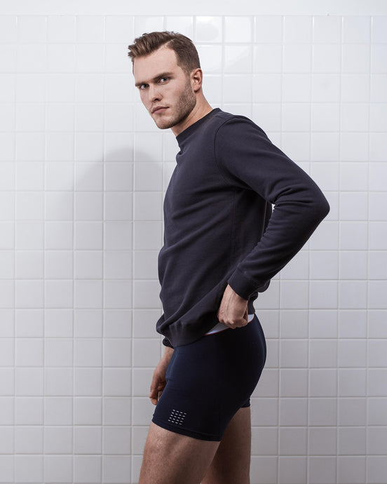THE BOXER SHORT NAVY- 2 PACK