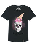 Skull with icecream | Long Unisex T-Shirt