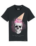 Skull with icecream | Unisex T-Shirt