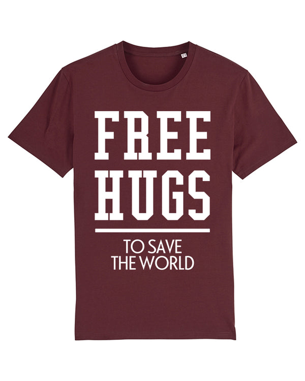 Free hugs to save the world | T-Shirt Herren