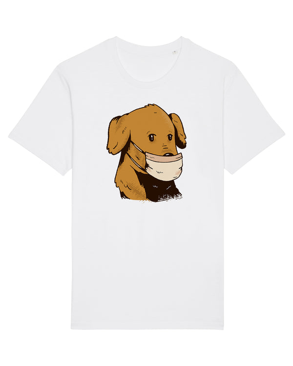 Dog With Facemask | T-Shirt Unisex