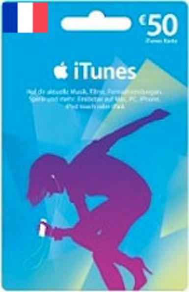 iTunes u20ac50 Gift Card FR