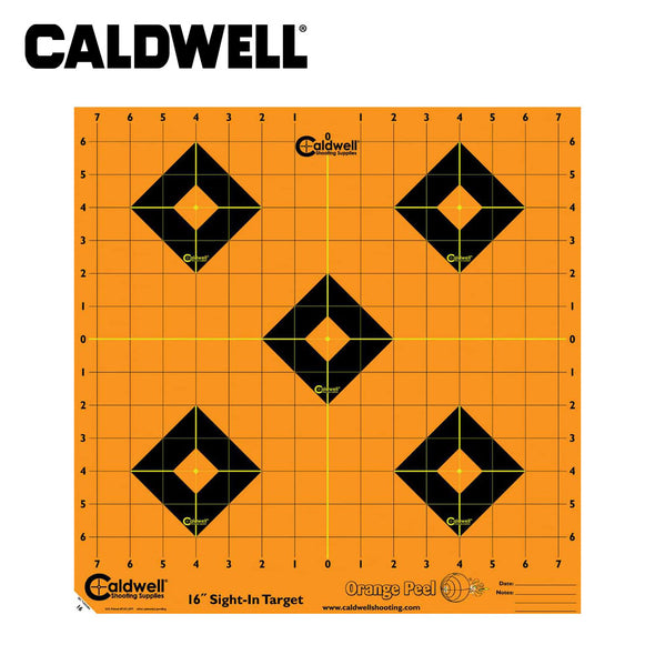 Caldwell Orange Peel Sight-In Target 16 Inch 5 Sheets