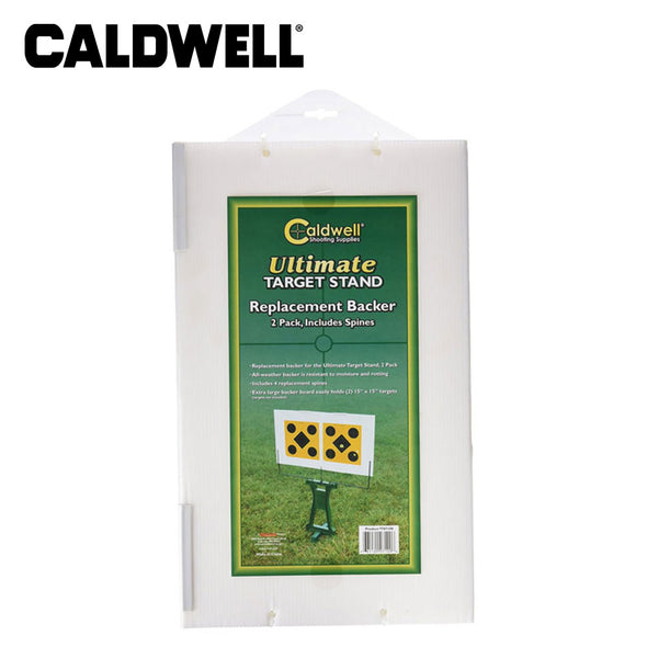 Caldwell Ultimate Target Stand Replacement Backer 2pk