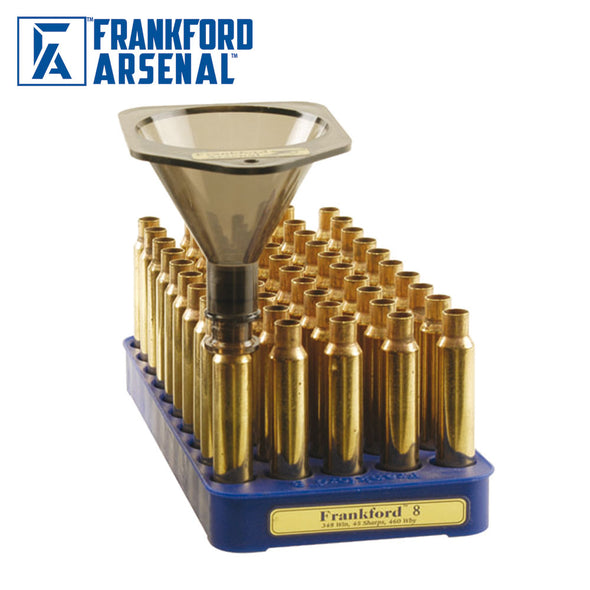 Frankford Arsenal Powder Funnel With 16 Nozzles And 4 Inch Drop Tube Extension