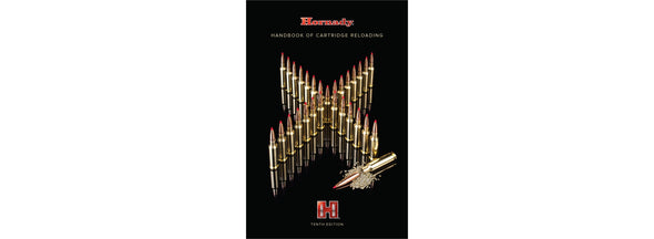 Hornady 10th Edition Manual of Reloading