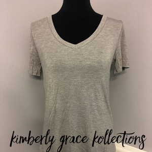 Back To Basic VNeck Top