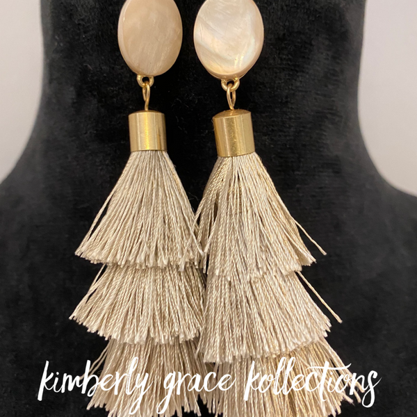 Beaded ChaChaCha Earrings