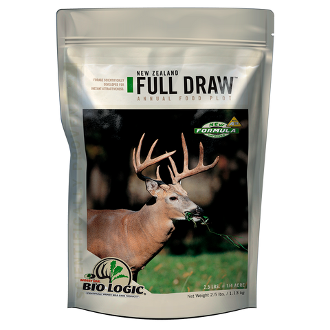 New Zealand Full Draw food plot seed