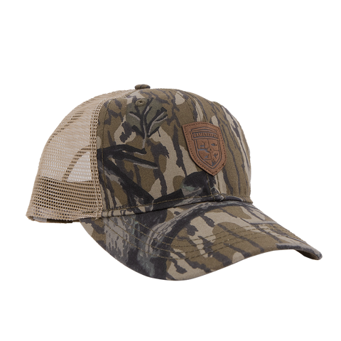 GameKeeper Leather Logo Treestand Meshback Hat