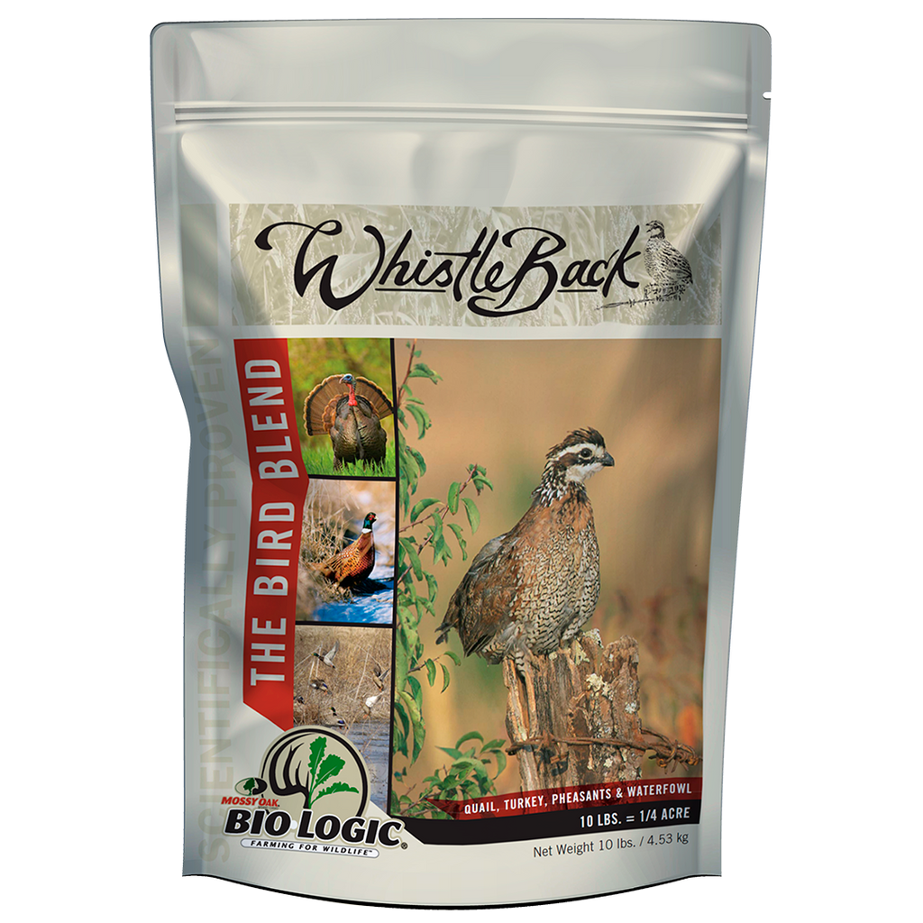WhistleBack - Food Plot Seed for Quail and Upland Birds