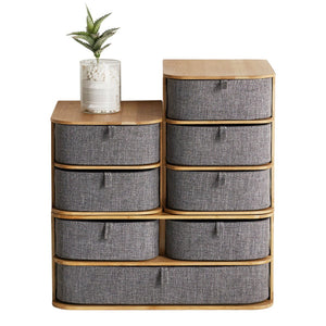 Bamboo Oxford Cloth Storage Box
