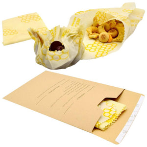 3 Packaging Cloth Of Beeswax Food Wraps