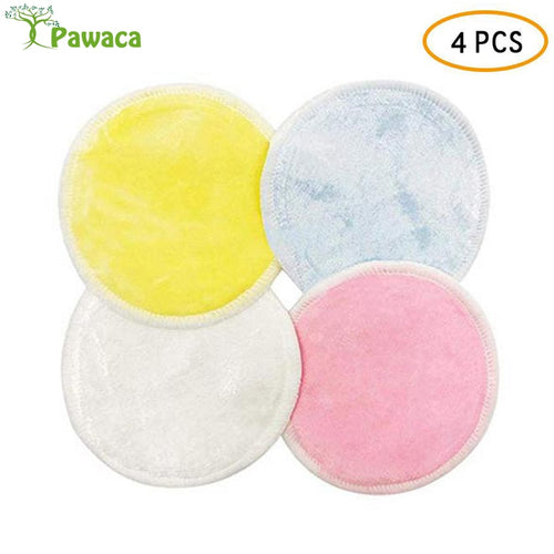 4Pcs/8pcs  Crystal And Bamboo Fiber Face cleaning pad