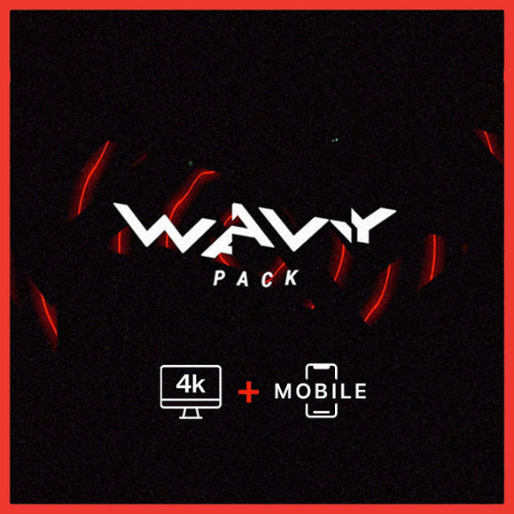 25% OFF • BUNDLE • WAVY PACK // Pro 4k + Mobile (+70 MOTIONS)