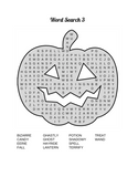 Pumpkin Fun Activity Pages: Pumpkin Word Search, Pumpkin Mazes, Pumpkin Sudoku & Pumpkin Coloring Pages