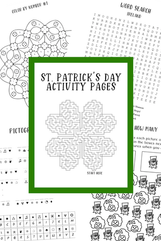 St. Patrick's Day Printable Activity Pages