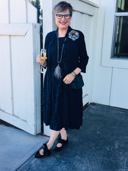 What I wore to a wine country wedding