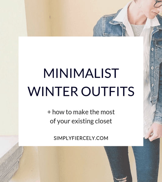 I must admit … there's a part of me that feels silly writing about minimalist winter outfits because it's hot and sunny here in Australia! But for those of you who don't know, I grew up in the States and this time of year always makes me feel...