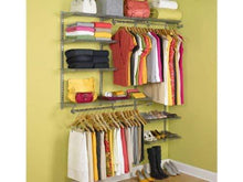 Load image into Gallery viewer, Save on rubbermaid configurations 3h8800 3 to 6 foot deluxe custom closet kit