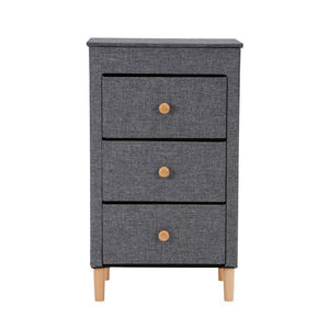 Featured kamiler 3 drawer dresser nightstand beside table end table storage organizer tower unit for bedroom hallway entryway closets removable fabric bins no tool required to assemble