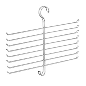 Related interdesign classico spine scarf closet organizer hanger set of 2 holder