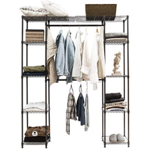 Load image into Gallery viewer, Products tangkula garment rack portable adjustable expandable closet storage organizer system home bedroom closet shelves clothes wardrobe coffee