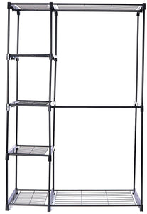 Amazon best whitmor deluxe double rod freestanding closet heavy duty storage organizer