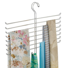 Load image into Gallery viewer, Save interdesign classico spine scarf closet organizer hanger set of 2 holder
