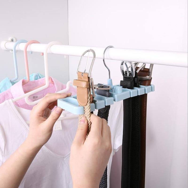 Storage Rack Tie Belt Organizer