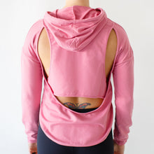 Load image into Gallery viewer, The All Cut Up Hoodie (Rose)