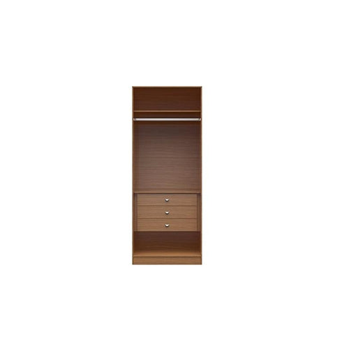 Manhattan Comfort Open Chelsea Basic Wardrobe Closet 2.0