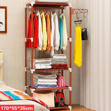 Load image into Gallery viewer, Modern Stylish Simple Standing LivingRoom Storage Furniture Multifunctional Creative Minimalist Hangers Hat Rack Wardrobe Closet