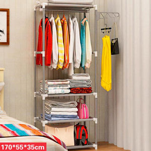 Modern Stylish Simple Standing LivingRoom Storage Furniture Multifunctional Creative Minimalist Hangers Hat Rack Wardrobe Closet