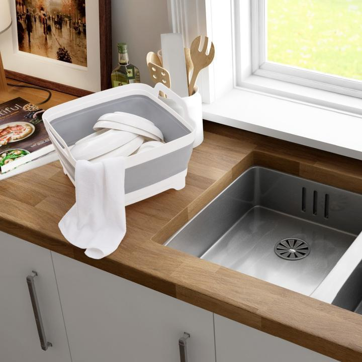 Foldable Drain and Wash Basket