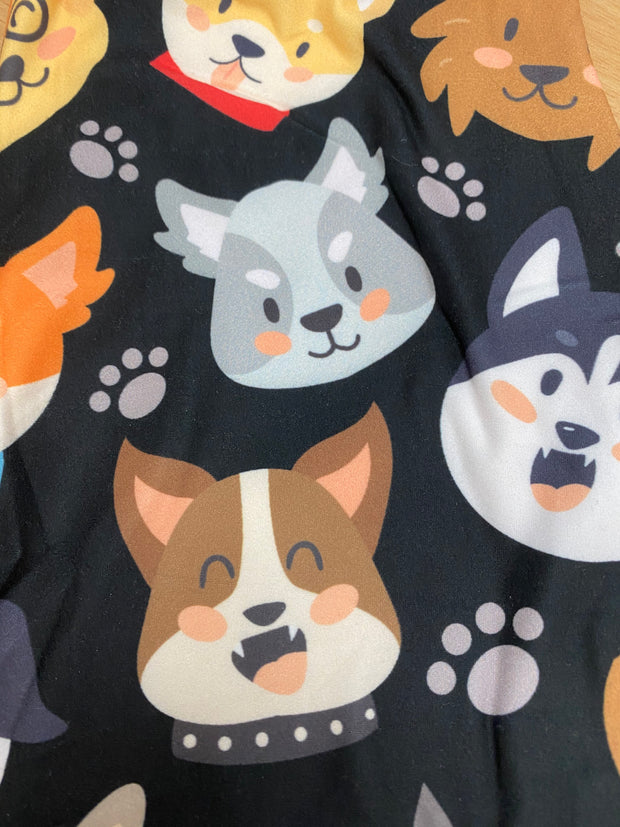 Dogs Faces Kids Size S