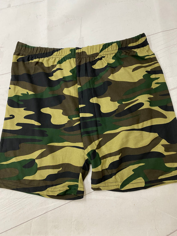 Camo Shorts Classic Size