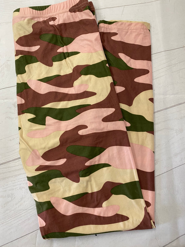Muted Camo Extra Curvy Size