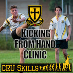 Kicking from Hand Clinic