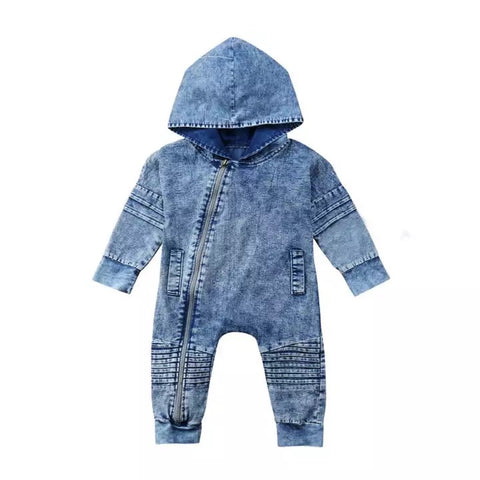 Swag Denim Jumpsuit