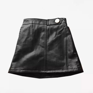 Sassy Leather Skirt
