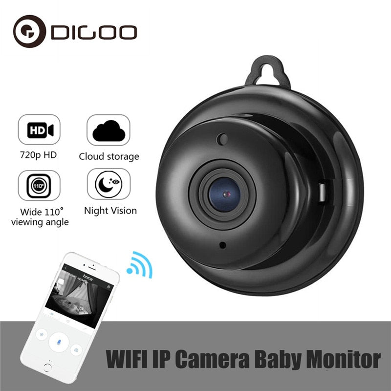 Wireless Night Vision Smart Home Security IP Camera